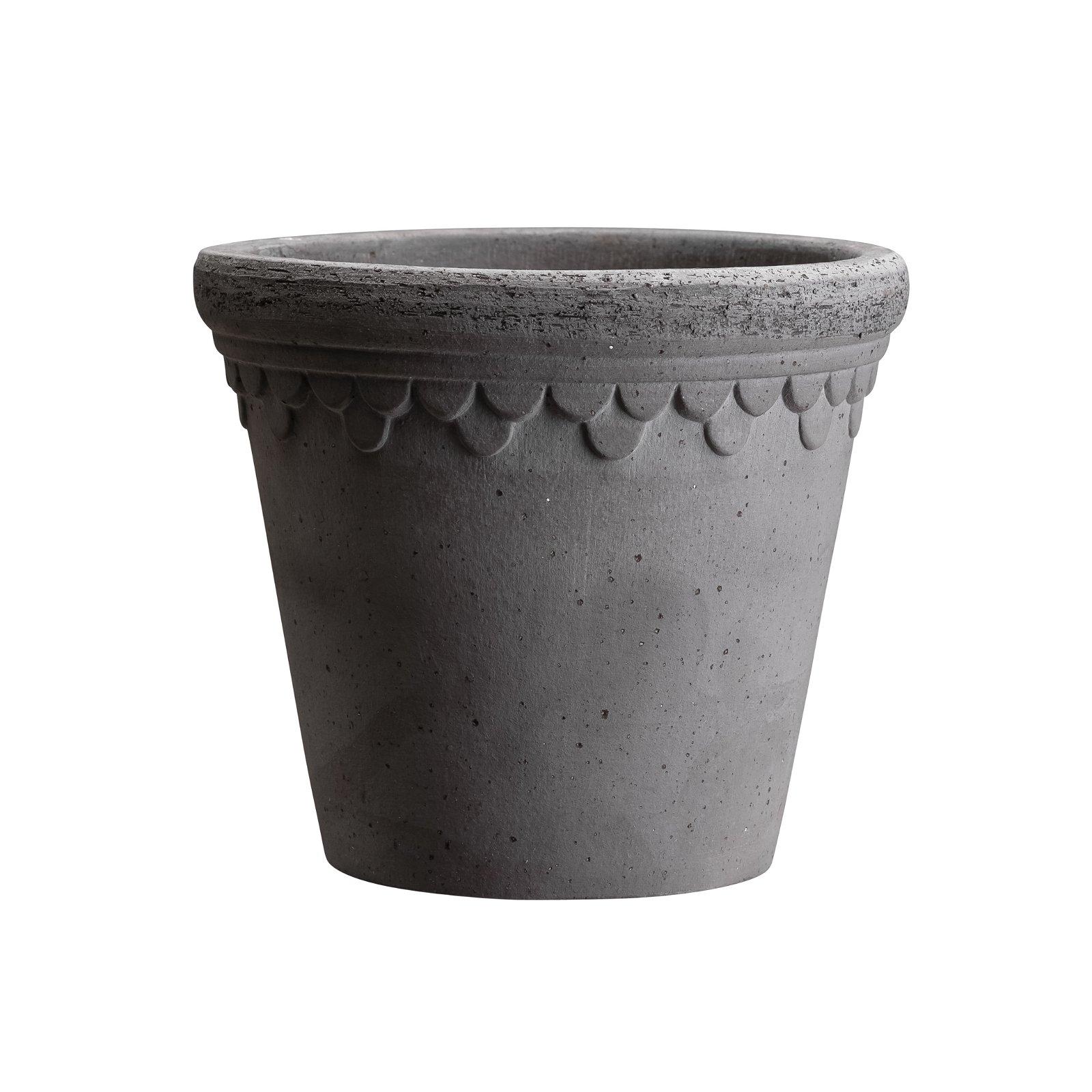 Bergs Potter, Københavner Grå, 35 cm, Potte