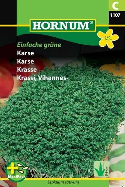 Karse, Einfache grüne - MaxiPack (C)