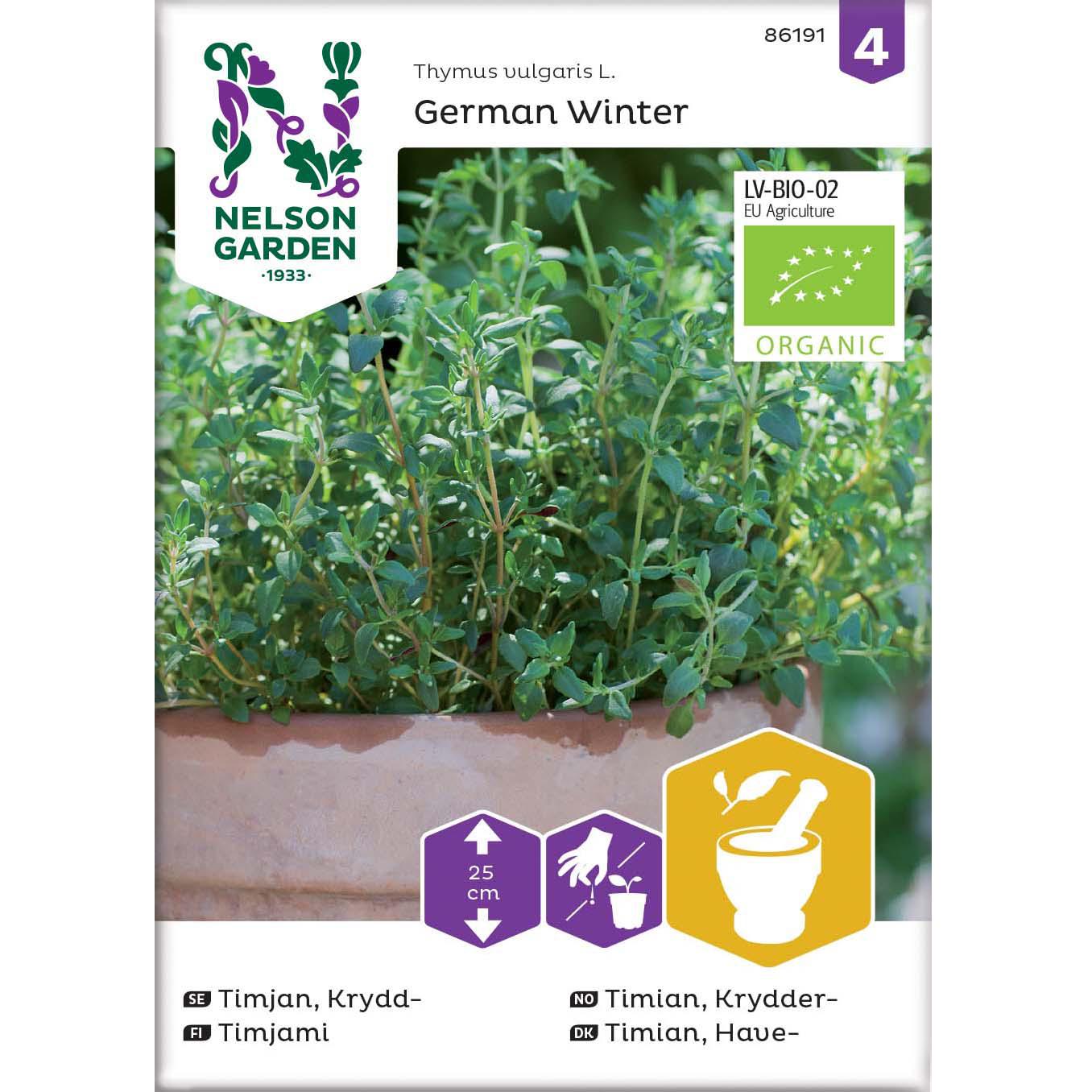 Timian, Have-, German Winter, Organic