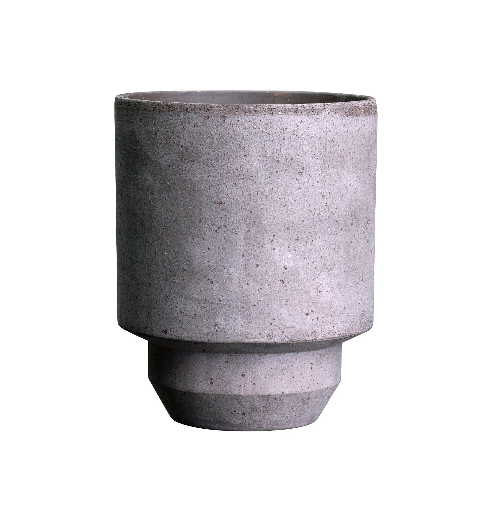 Bergs Potter, The Hoff Pot Grå, 30 cm, Potte