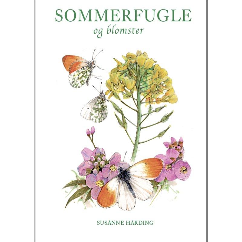 Bog: Sommerfugle og blomster