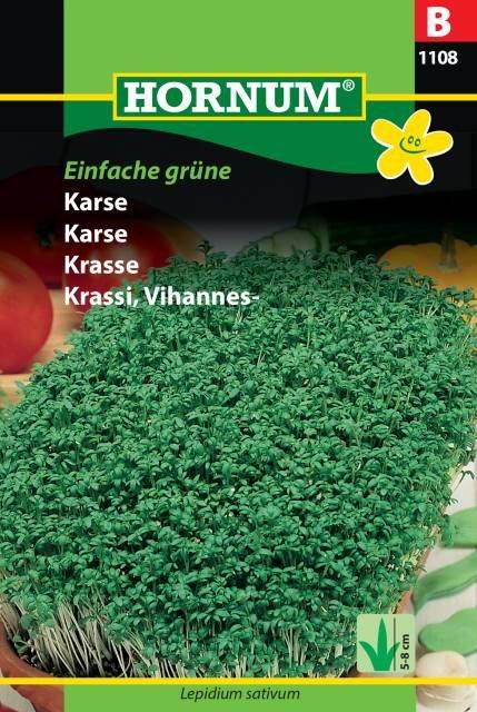 Karse, Einfache grüne (B)
